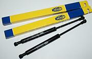Pair Mm Grill Gas Spring Shock 2x Struts Fits Iveco Turbodaily New Daily 1989-