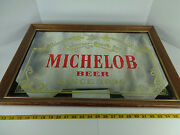 Anheuser-busch Inc Michelob Beer Since 1896 Sign Mirror Man Cave 302-204 Gs