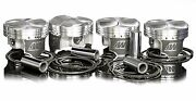 Wiseco 81.5mm 11.11 Pistons For Acura 1990-01 Integra Ls/gs B18a1 B18b1