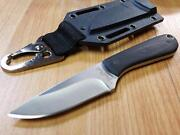 Benchmark Backpacker 420 Stainless Micarta Handle Fixed Blade Knife 001