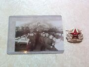 Ww2 1930s Russian Soviet Red Army Soldiers Photo X - Mass Field Post And Pin Lot