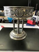 Antique Russian Sterling Ornate Compote 1880's