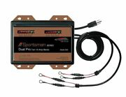 Dual Pro Sportsman Ss2 Battery Charger - 2 Bank 20 Amp Marine Charger