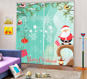 3d Christmas 89 Blockout Photo Curtain Printing Curtains Drapes Fabric Window Ca
