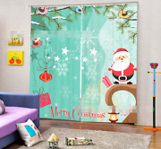 3d Christmas 76 Blockout Photo Curtain Printing Curtains Drapes Fabric Window Ca