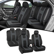 Car Seat Covers For Auto Charcoal New Design Poly Pro Cover Snug Semi Custom Fit