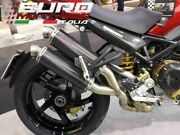 For Ducati Monster S4r Silmotor Exhaust Full System 54mm 2 In 2 Direct Carbon