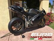 For Ducati 998 /r/s 54mm Silmotor Exhaust Full System And Carbon Oval Silencers