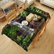 3d Tree Water7 Tablecloth Table Cover Cloth Birthday Party Event Aj Wallpaper Au