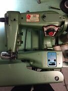 U.s. Blindstitch Model 1118-2 Industrial Sewing Machine W/full Motor And Table