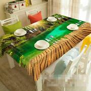 3d Road Lake70 Tablecloth Table Cover Cloth Birthday Party Event Aj Wallpaper Uk
