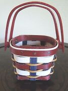 Longaberger2017itty Bitty Booking Basketeveryday Usarareready To Ship