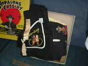 1950 Hopalong Cassidy Costume Play Outfit New In Box For Youngsters Hoppy