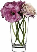 Clear Handmade Glass Flower Bouquet Vases - Choice Of Styles - Mothers Day Gift