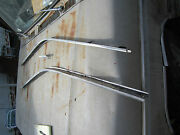 1963and1/2 Galaxie Fastback Roofline Weatherstripping Molding Channel Garnish