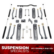 4.5 Maxtrac Lift Kit For 2007-2018 Jeep Wrangler Jk W/ Control Arms And Shocks