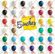 5inch Small Round Best Latex Balloons 100 Quality Standard Ballon Colour Baloon