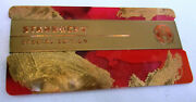 2016 Starbucks Special Edition Holiday Card With Metal Wrap Philippines Retired