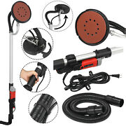 Electric Variable Speed Drywall Vacuum Sander With Handle Hose And 6 Discs