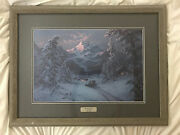 Jesse Barnes Journey's End Signed And Numbered 527/1500. Framed And Matted.