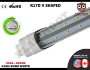 R17d 5ft 36wt Replacement For F60t12/cw/ho Led V Shaped Tube Light For Cooler