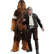 Star Wars Episode Vii The Force Awakens Han Solo And Chewbacca 1/6 Figure Set
