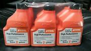Stihl Oil Mix 2-cycle 6 Pack Makes 2 Gallons Per Bottle High Performance 501
