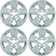 4 2008-2012 Jeep Liberty 16 Chrome Skins Liners Hubcaps Imp362x-16