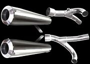Voodoo 2009-2019 2nd Gen Vmax Dual Stainless Race Exhaust Polished