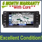 Chrysler Dodge Jeep Ram Radio Navigation Touch Screen 30gb Hdd Uconnect Usb Aux