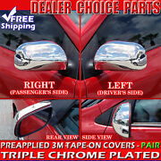 For 2004 2005 2006 2007 2008 2009 Toyota Prius Chrome Mirror Covers Full