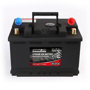 27-66 12v 40ah 1000cca Lithium Iron Phosphate Battery Lifepo4 Jump Starter 4wd