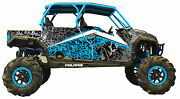 Polaris General 4 Door 1000 Design Mxvec 013 Decal Graphic Kit Wraps Turbo 3m