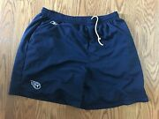 Jeff Fisher Coach's Reebok Shorts Nfl Tennessee Titans Game Practice Worn