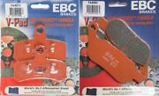 Ebc And039vand039 Front + Rear Brake Pads 2008-14 Harley Flstc Heritage Softail Classic