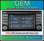 Nissan Note Sat Nav Car Stereo Radio Lcn2 Connect Cd Player Bluetooth Map Card