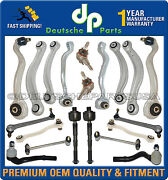 Mercedes W212 E Class Front Rear Control Arm Arms Ball Joints Suspension Kit 20