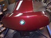Bmw Top Case For K1200lt 1999-2000 Metallic Canyon Red Loaded Speakers, Back Pad