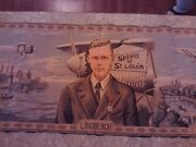 Authenticized Lindbergh Tapestry