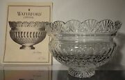 Waterford Crystal Jim Oand039leary 199715th Aniversary Centerpiece 10 1/8 199/250