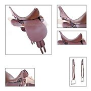 Universal Pattern Up Trooper / Military Saddle 19 - Pure Leather