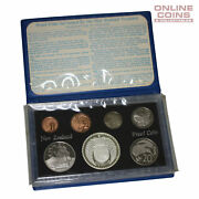 1979 Royal Canadian Mint New Zealand Proof Seven Coin Year Set -silver Coat Arms