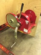 Winch Hand Double Reduction Thern Winch 10000 Thern Hand Winch