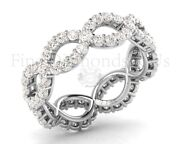 1.50 Carat Round Brilliant Cut Diamonds Full Eternity Ring Available In 9k Gold