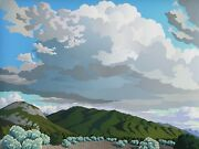 Doug West, Near Taos, Two Remember Limited Edition Serigraph, Almost Sold-out