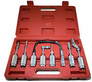 Aircraft Tools New 7pc Grease Adaptor Kit Ideal For Mechanics / Engineers