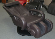 Espresso Brown Human Touch Ht-5040 Wholebody Massage Chair - Stretching Recliner