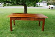 Old Reclaimed Barn Wood Handcrafted Dinning Table 36x 72