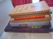 Lot Of 8 Vintage Antique Collector's Guides And Manuals And Books