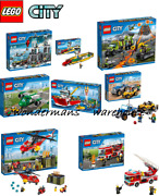 Lego City Sets - Police/fire/plane/ferry/volcano And More -brand New And Boxed